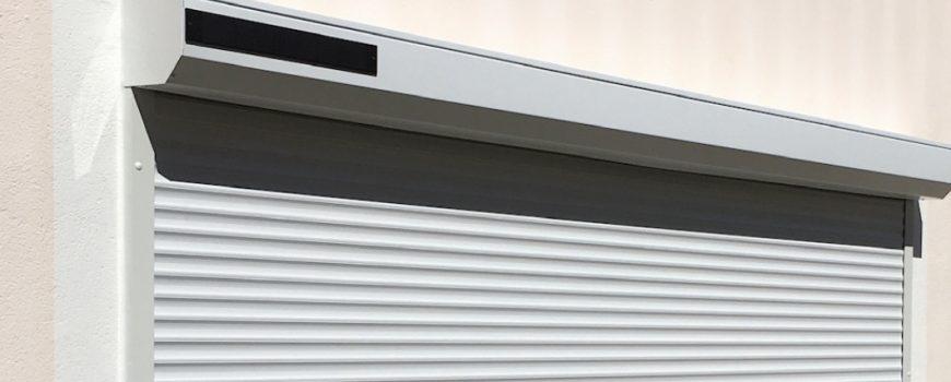 volet roulant a énergie solaire SOMFY par Clausio Industrie