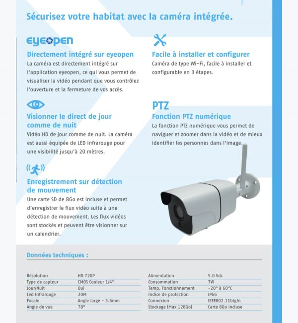 EYEOPEN CAMERA POWERTECH AUTOMOTION par CLAUSIO INDUSTRIE