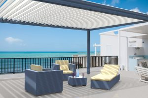 Pergola bioclimatique MATEST CLASSIC par Clausio Group