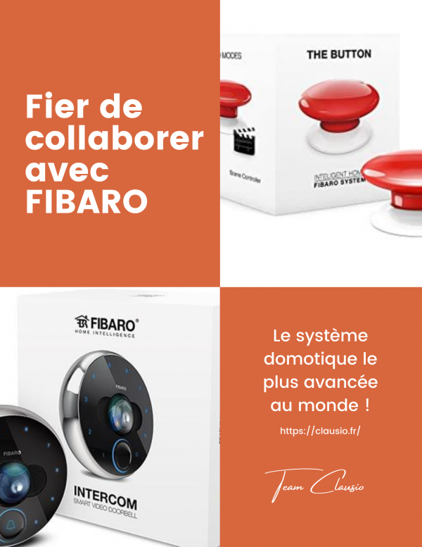 Domotique FIBARO CLAUSIO