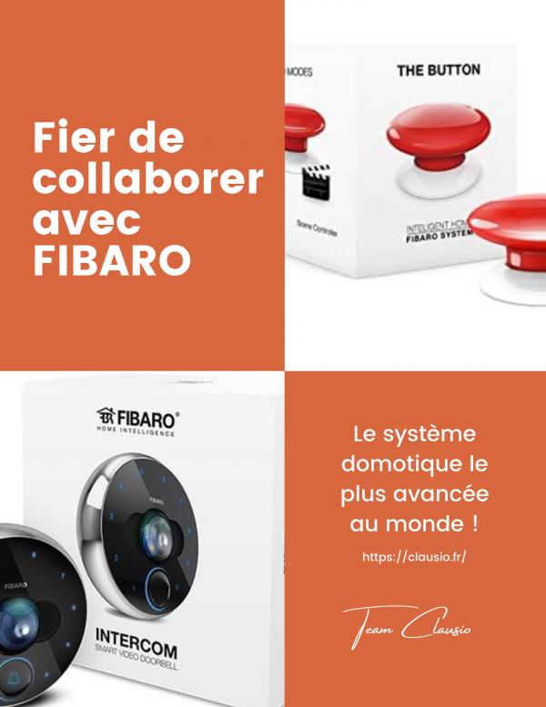 Domotique FIBARO CLAUSIO