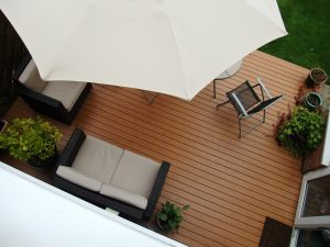 lames de terrasse en aluminium Clausio