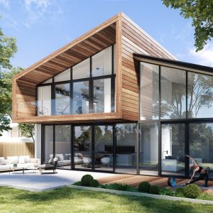 Fenêtres en aluminium Aluhaus par OKNOPLAST