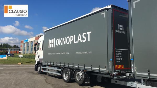 camion de livraison OKNOPLAST Montauban