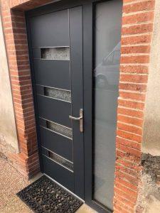 Porte d'entrée90 mm ALUHAUS