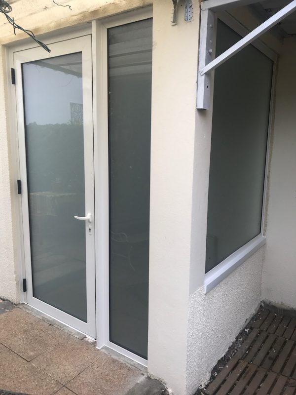 Porte d'entréeAluminium Sepalumic fabriquée par LA FABRIK MONTAUBAN