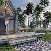 Fenêtres en aluminium coulissante ALUHAUS par Oknoplast