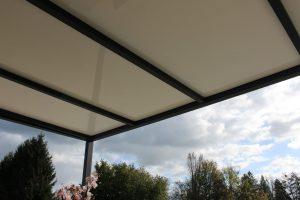 Pergola a toiture fixe ORIAL par Clausio